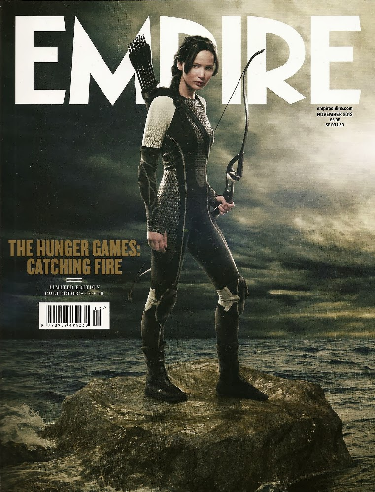 : Jennifer Lawrence (3) EMPIRE UK [November 2013]  COVER  MAGAZINE