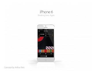Konsep dari iPhone 6