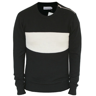 ovaida sons new york colorblock sweater jumper