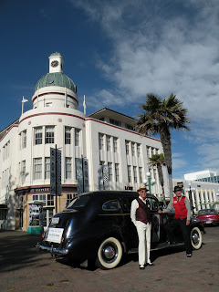 Awesome Art Deco Napier, New Zealand. Photograph by Janie Robinson, Travel Writer