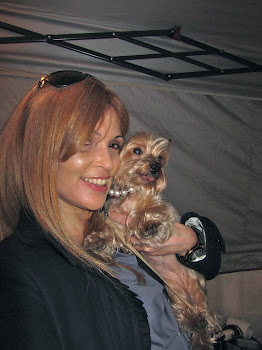 With Jilli at Pet expo in LI