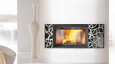 dekoratif+%C5%9F%C4%B1k+salon+%C5%9F%C3%B6mine+modeli Modern İç Tasarım Şömine Örnekleri