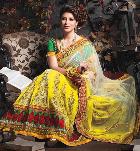 Buy lehenga sarees Online