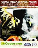 Xl Festival Internacional de Teatro Itinerante Esperanza 2013