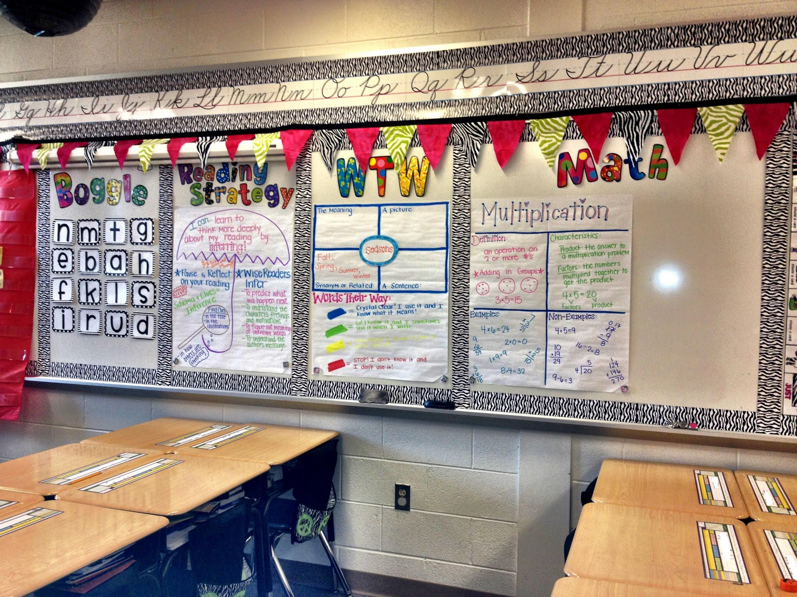 Math Focus Wall http://flipflopteacher.blogspot.com/2011/12/new-years-resolution.html