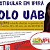 I VESTIBULAR EM IPIRÁ – POLO UAB IPIRÁ BAHIA