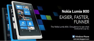 Nokia Lumia 800 presale