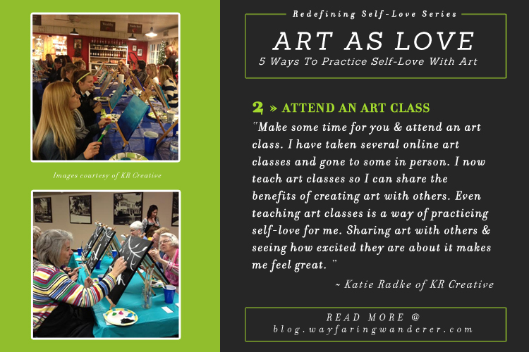 5 Ways to Practice Self-Love w/ Art | Art as Love by Katie of KR Creative
