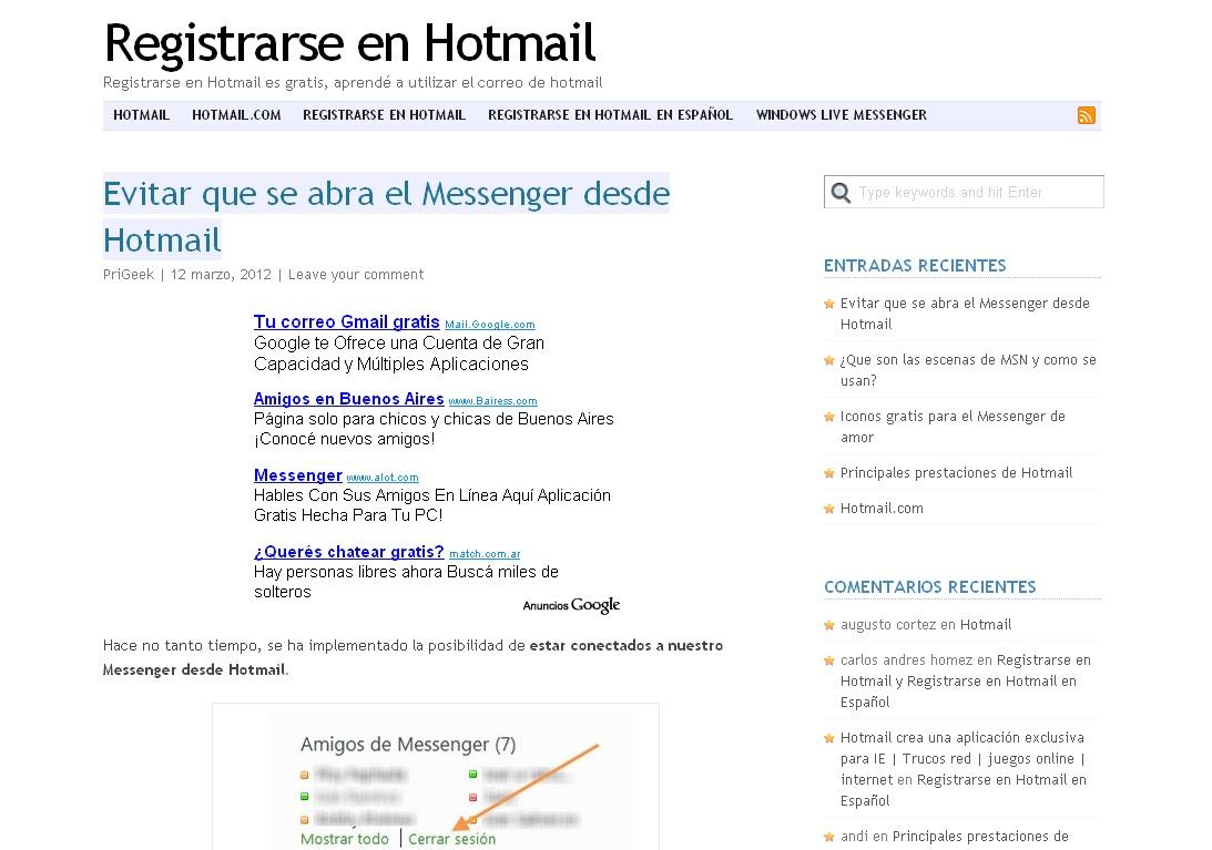 www hotmail com p: