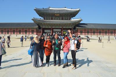 80 Hari di Korea : Hari 18 (Gyeongbokgung Palace, Nandaemun & N Seoul Tower)