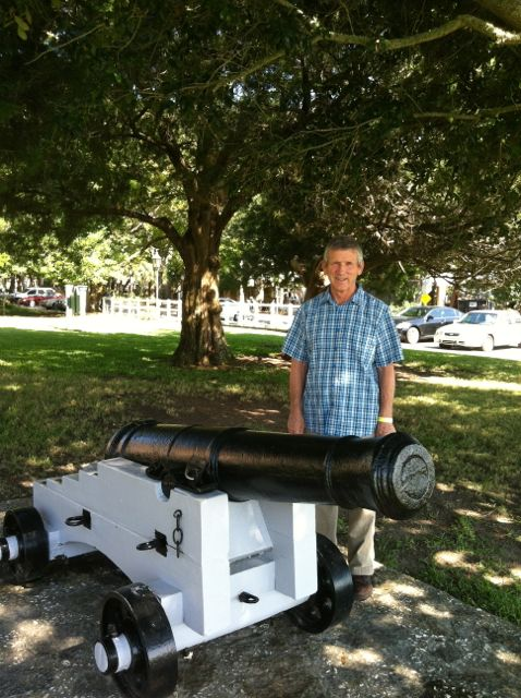 Of course Elwood loved the cannons.
