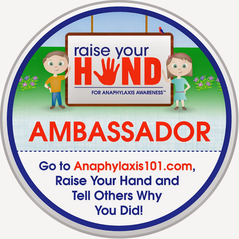 Help Raise Anaphylaxis Awareness by Raising Your Hand