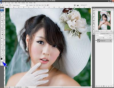 Cara Mengubah Warna Rambut dengan Photoshop