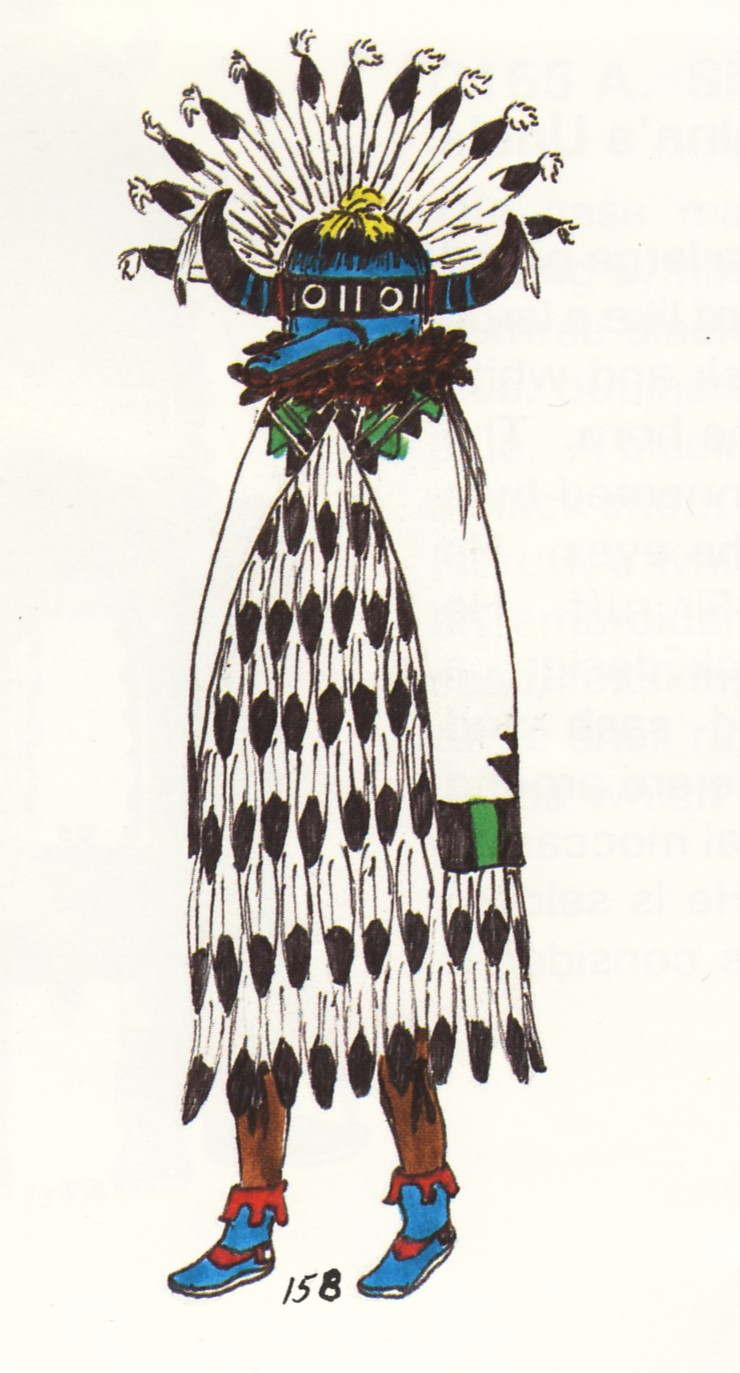 Zuni Shalako, p. 102, Hopi Indian Kachina Dolls