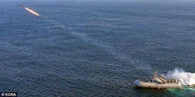 Inilah kapal siluman penghancur Milik Korea Utara yang di takuti oleh amerika