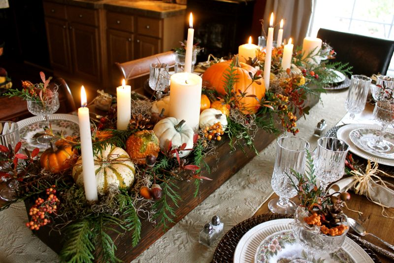 Pinterest picks thanksgiving table settings Thanksgiving table