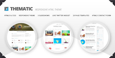 HTML5/CSS3 pattern Thematic - Themeforest