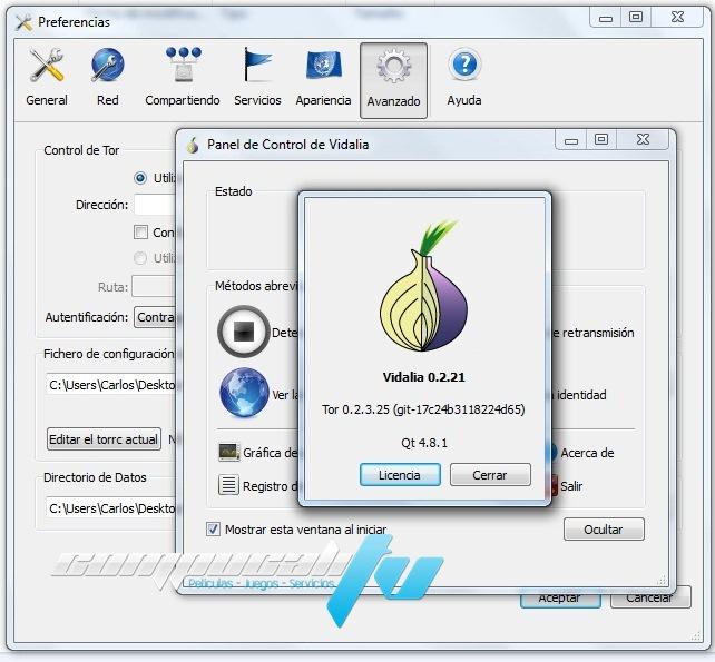 PirateBrowser Versión 0.6 Español