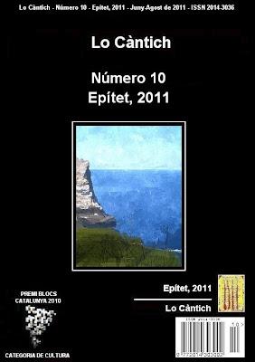 Lo Càntich - Número 10 - Epítet, 2011