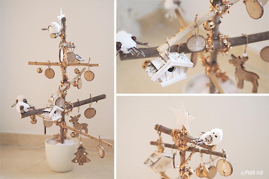 Petit kit diy c mo hacer un rbol de navidad con ramas - Arbol de navidad con ramas ...