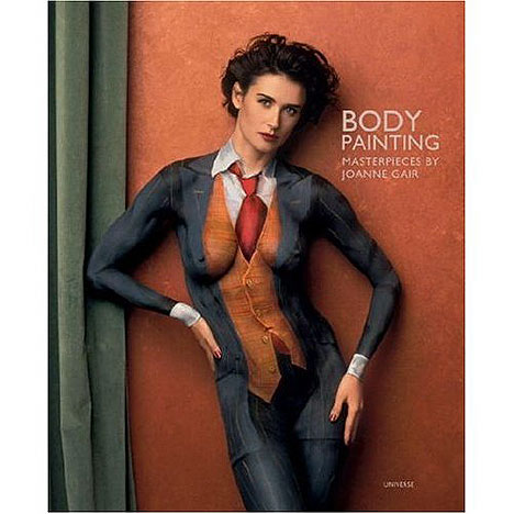 very sexy girl body paint