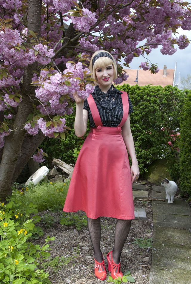 melissa, pinafore, 50s, retro