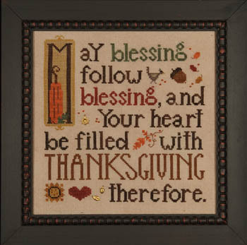Thanksgiving Blessing by Heart In Hand Needleart