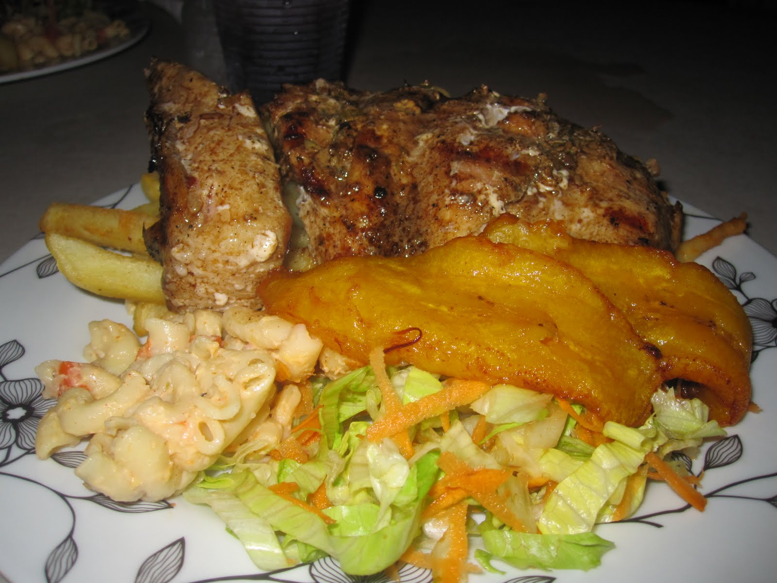 Dom appetit oistins local fish fry in barbados for Local fish fry