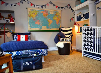 Boy's Nursery Decorating Ideas