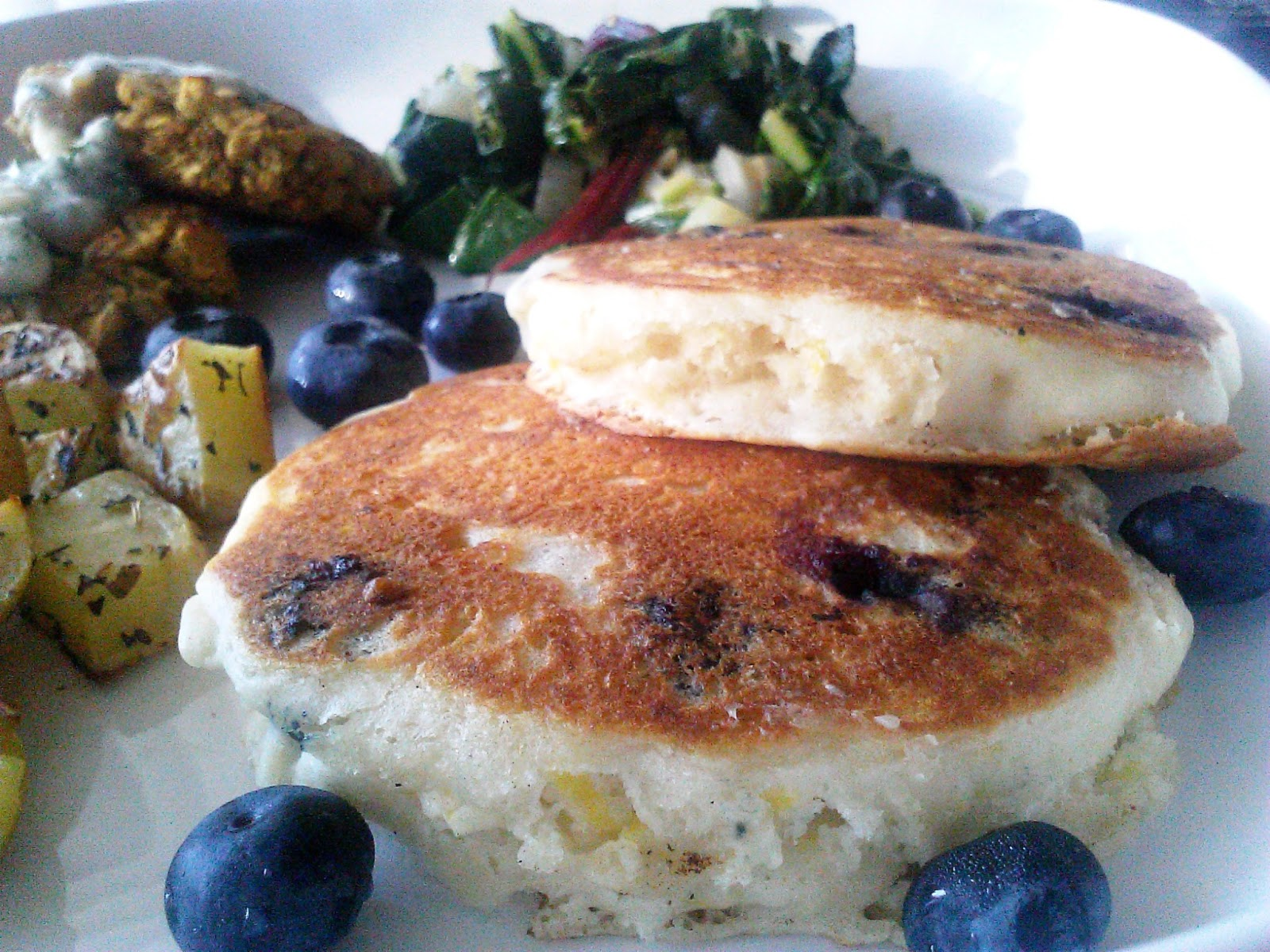 The Real Meal: Blueberry Buttermilk Pancakes, and Other Goodies: Vegan ...