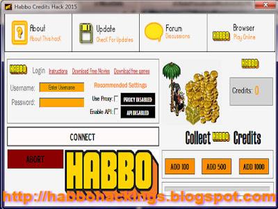 Habbo Credits Hack 2015