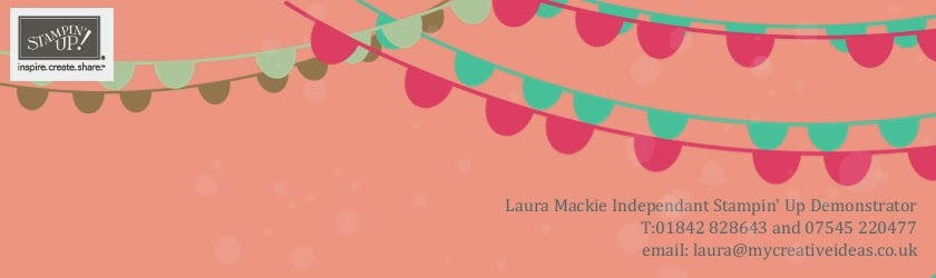 Stampin' Up! Demonstrator Laura Mackie