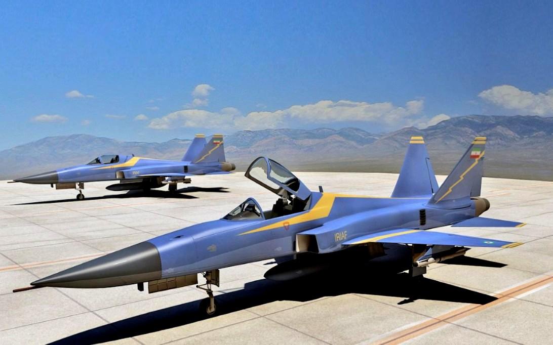 HESA Saeqeh Jet Fighter Wallpaper 2