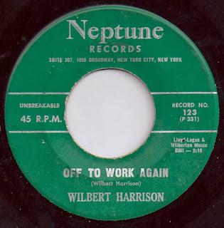 Wilbert Harrison Off To Work Again