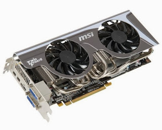 MSI Twin Frozr II Radeon HD6950