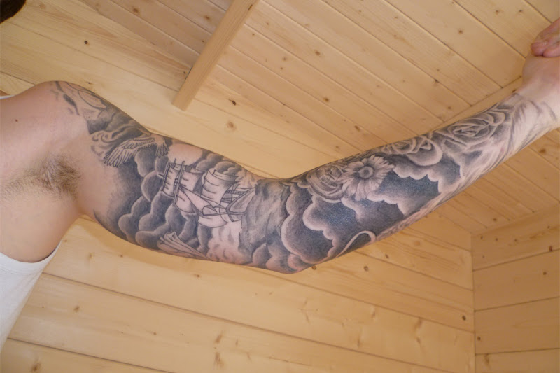 cloud sleeve tattoo designs cloud sleeve tattoo cloud sleeve tattoo title=