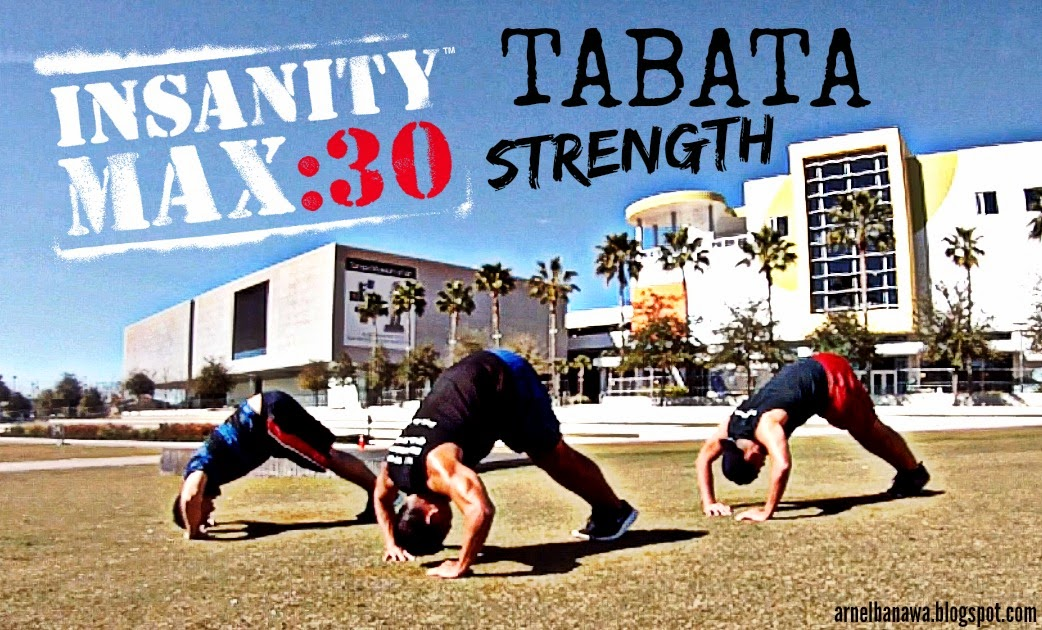 Insanity Max 30 Tabata Strength - Tabata Workout - Tabata Training
