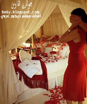 افكار ترتيب وتزين غرفة النوم بعيد الحب 2013, غرف نوم رومانسية