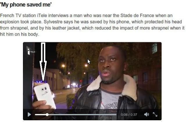 Lihat...Laki-laki Ini Selamat dari Tragedi Paris Karena Ponselnya