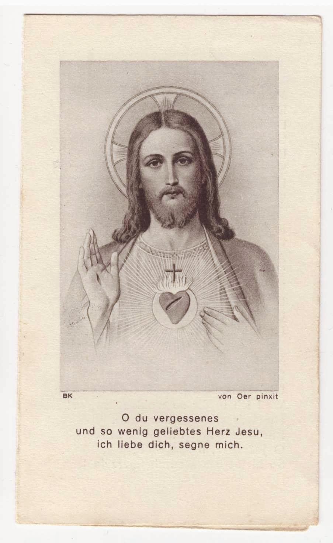 Heilige, für die Liebe zu beten