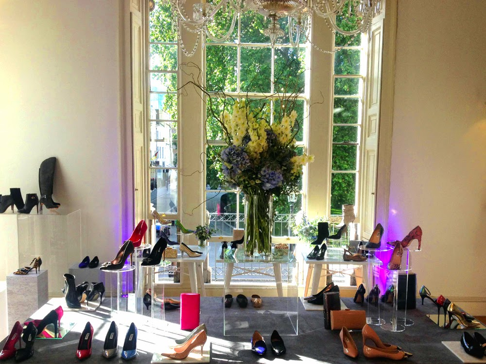 Dune Autumn Winter 2014 press day at 33 Fitzroy Square