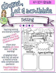 Setting-Draw, Jot & Scribble
