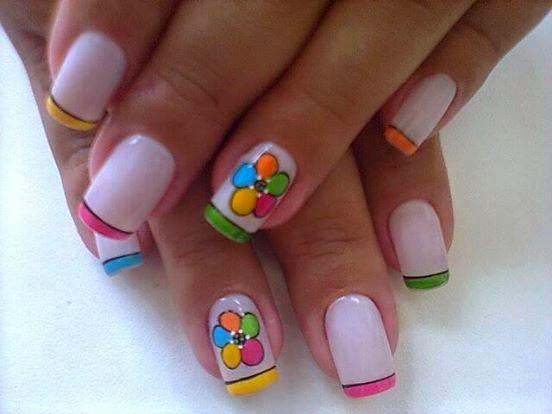 50 diseños de uñas , uñas decoradas ,uñas noche , imagenes de decoracion de uñas gratis