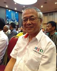 Ketua Kongres Penyokong PAS (PSC), Hu Pang Chow calon PAS bagi kerusi Ayer Hitam