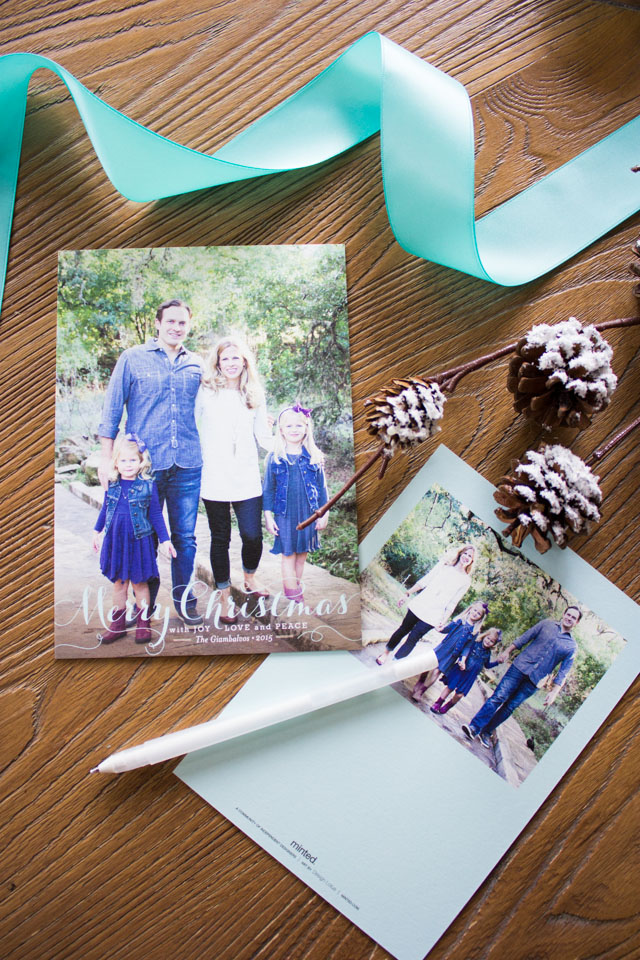 Spirit of Christmas holiday photo cards from Minted