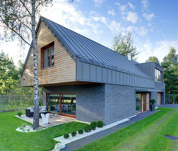 estas son algunas imgenes del diseo de una casa de madera con estilo lujoso esta casa de lujo se encuentra en polonia el diseo de casas