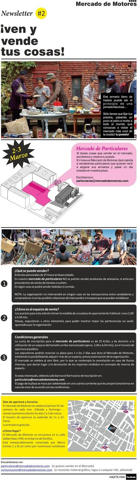 Vende lo que ya no uses en el próximo Mercado urbano de Madrid