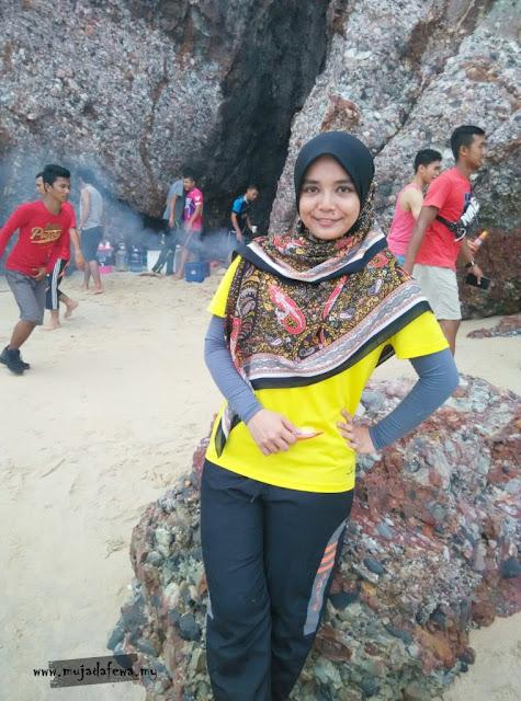berkelah tepi pantai, pantai cantik terengganu, pantai popular Malaysia