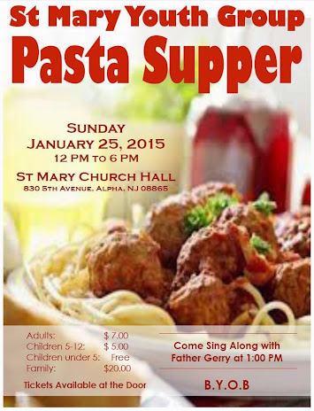 SMC Youth Group Pasta Supper