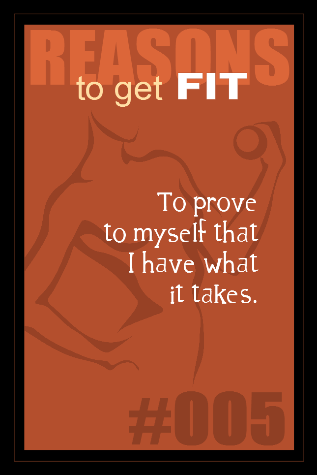 365 Reasons to Get Fit #005